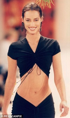 Christy Turlington, top modèle