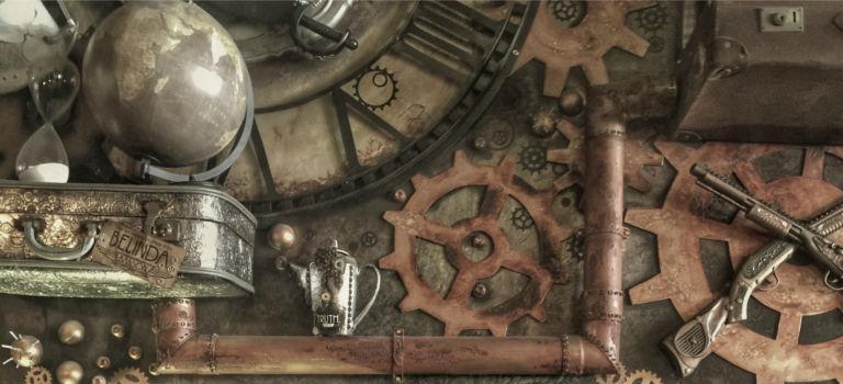 Une collection de bijoux et piercings Steampunk