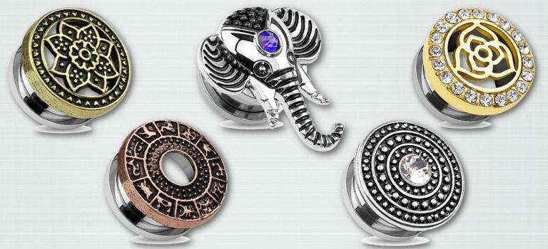 5 piercings tunnels pour oreille à absolument avoir dans sa collection